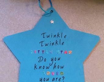 Twinkle Twinkle Star Wall Decor