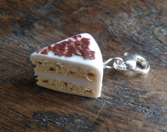 Charm's share of cakes chocolate - Polymer clay - cernit - sculpey clay