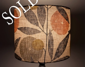 Botanical Lampshade - Glow Worm Collection