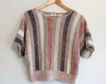 80's dolman knit sweater