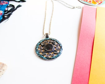 SAULA NECKLACE | boho chic dangling bollywood inspired pakistan indian jewellery