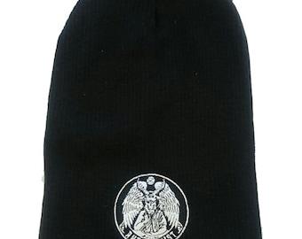 SALE! Vegan Slouch Beanie Hat By Anticarnist