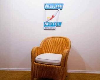 Vintage Motel sign,vintage neon sign,motel art,mid century modern,neon photo,neon art,motel sign photo,beach art,highway art, diving girl