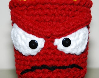 Inside Out Anger-inspired Cup Cozy
