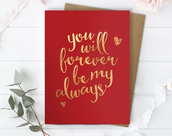 Love You Card Boyfriend, Love You Card Husband, Romantic Card Him, Anniversary Card Her, Romantic Card Boyfriend, Just Because Love Card