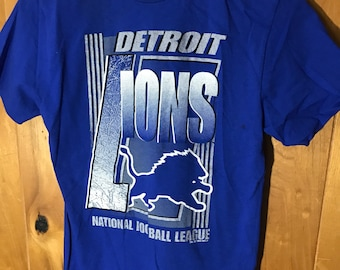 Detroit Lions NFL 1994 Youth Size Large T-Shirt