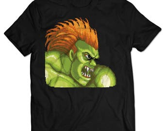 Street Fighter II Blanka T-shirt