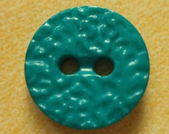 16 small turquoise buttons 14mm (108) button