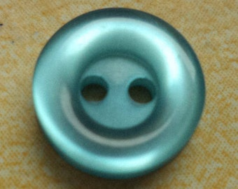 10 small blue buttons 10mm (2268) shirt buttons buttons for blouses