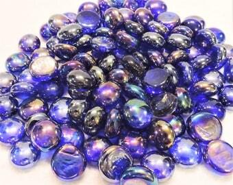 Cobalt Blue Glass Rocks - Mosaic/Terrarium Stones