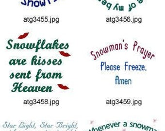 Winter-Thoughts ( 10 Machine Embroidery Designs from ATW ). XYZ17C