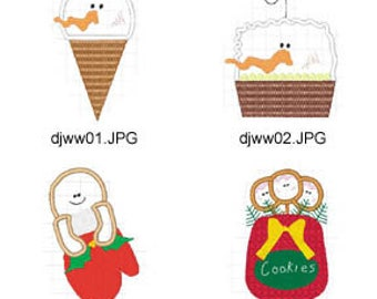 Applique-Winter-Wishes ( 4 Machine Embroidery Designs from ATW ) XYZ17E