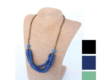 Micro Bead 5-Strand Necklace