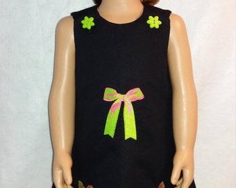 Meloney's Design handmade girls size 24 months aline dress