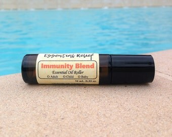 Guard Immunity Blend Essential Oil Roller Bottle, Protective Blend Essential Oil Roller Bottles, Immunity Boosting Oil Roll On
