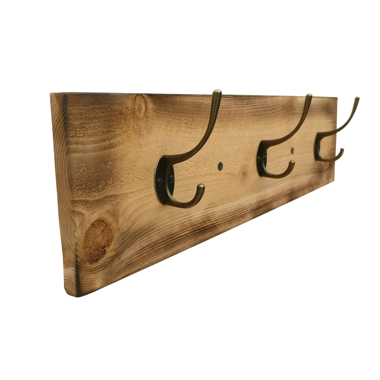 rustic coat rack towel hooks wall mounted coat rack wall. Black Bedroom Furniture Sets. Home Design Ideas