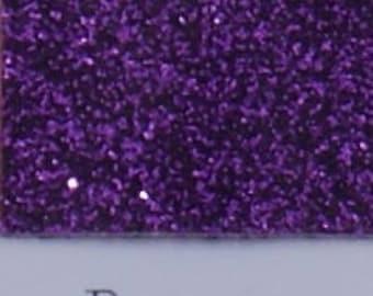 "Purple--Siser Glitter HTV--12"" x 20"" Sheet--Heat Transfer Vinyl--T-Shirt Vinyl--Iron On Vinyl"