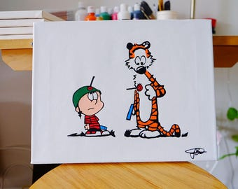 Calvin and Hobbes (War)