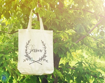 Custom Bridesmaid Gift - Custom Color Tote bag - Bridal Party Gift Bags - Custom Gift Bags - Personalized Gift - Wedding Gift - Personalize