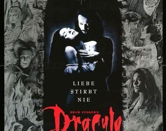 "Bram Stoker's Dracula (1992) Original German Movie Poster - 23"" x 33"""