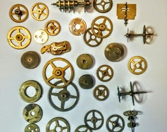 Steampunk cogs and gears - vintage