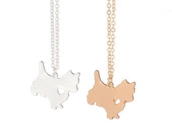 West Highland White Terrier 'Westie' Dog Necklace