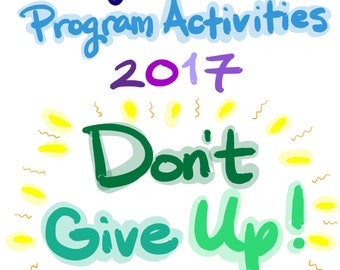 KIDS 3+ Don't Give Up Convention Program 88 page Activity Book for Jehovah's Witnesses instant download