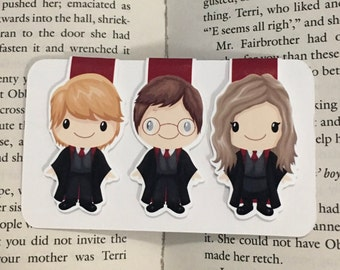 Harry Potter magnetic bookmark!