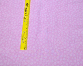 Hash Dot-Rose Cotton Fabric from Michael Miller