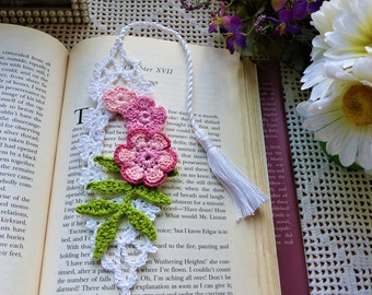 Floral Bookmark; Books Accessories; Bookmarker