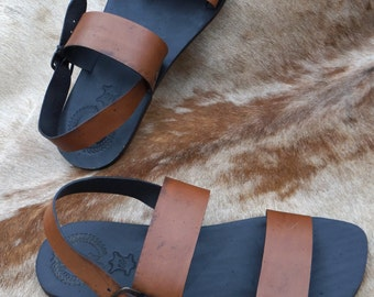 sandals,mens leather sandals,leather sandals men, flat sandals, leather sandals,Mens Summer Shoes, Leather gift for him, Mens Flats, roman