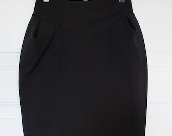 BLACK TULIP SKIRT · Pencil skirt
