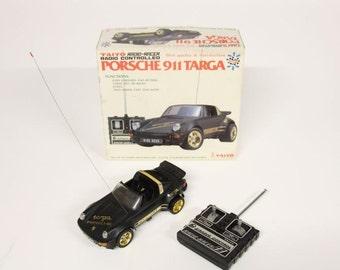 Vintage Porsche 911 Targa Taiyo radio-racer-controlled car-RC