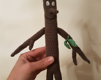 Stickman inspired soft toy