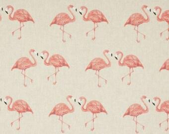 Furnishing fabric flamingo Couples on nature-CottonMix