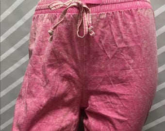 Awesome 90s Pink Acid Wash Pants