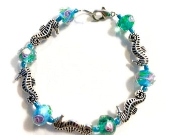 Women's Seahorse Bracelet