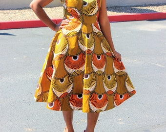 Extrem Robe tissus africain | Etsy PO63
