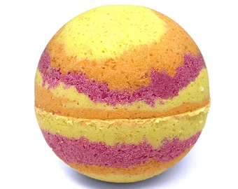 Tropical Bath Bomb! - Sunny Island Bath Fizzie, Relaxing Spa Gifts, High Quality Handmade Bath Bombs (choose your own scent and size)