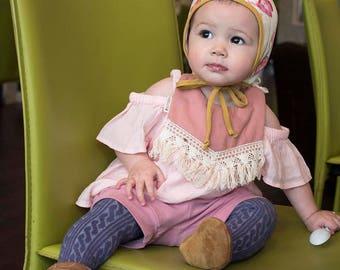 baby shorts - rose shorts - toddler shorts