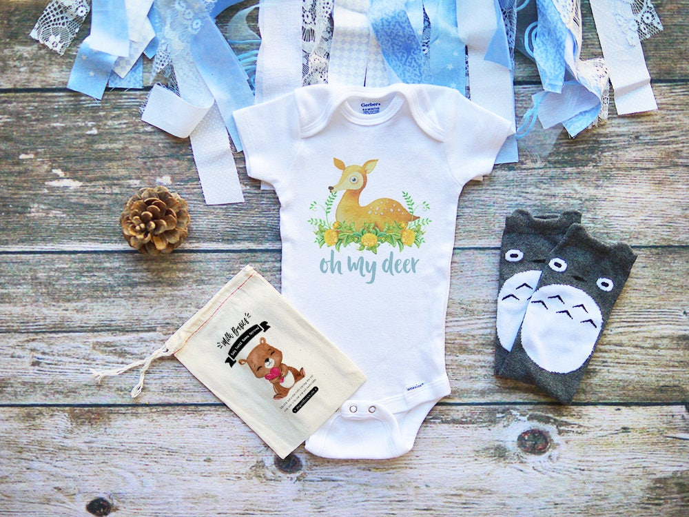 Oh My Deer Cute Baby Onesie 174 Baby Clothes Baby Boy Amp Girl