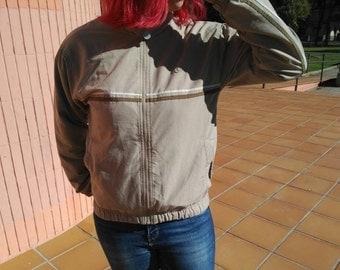 chaquetas nike vintage hombre marron