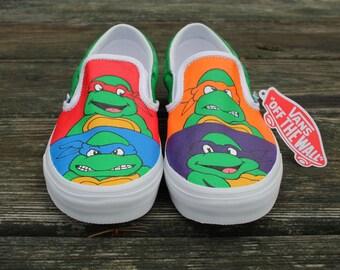 Ninja Turtle Custom Vans