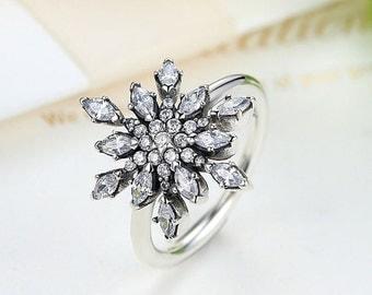 anello pandora fiocco neve