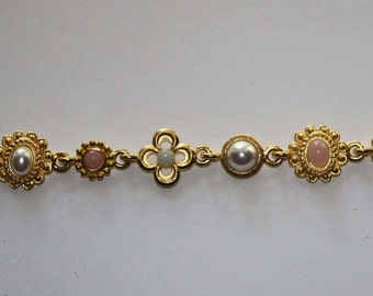 Rose Gold Link Bracelet