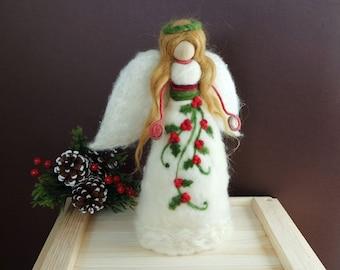 angel tree topper etsy - Christmas Angel Tree Topper