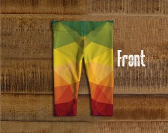Geometric leggings, kids leggings, baby leggings, funky leggingsKids and baby leggings