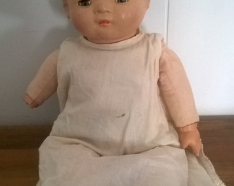 "1940's Vintage American Character ""little love"" Doll ~ AM. CHAR. Doll ~ Antique ~ Babydoll ~ Baby Sleepy eyes"