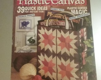 Quick & Easy Plastic Canvas No. 3, Dec/Jan 1990