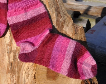 Handknitted socks size 35/36